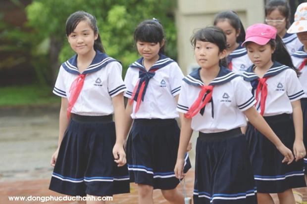 Lưu ý gì khi chọn vải may đồng phục học sinh cấp 1 giá rẻ: đồng phục học sinh tiểu học nữ mua đồng phục học sinh cấp 1