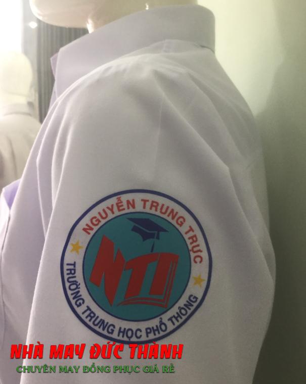 LOgo Mẫu Đồng phục học sinh Nam trường THPT cấp 3 Nguyễn Trung Trực, Gò Vấp, TP.HCM
