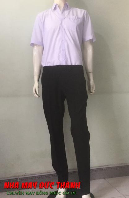 Đồng phục học sinh Nam trường cấp 2 Nguyễn Trung Trực TP.HCM