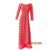 Mẫu áo dài nữ vải 3D đẹp (Đỏ)