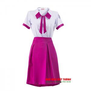 Bộ đồng phục học sinh nữ trường THPT Nguyễn Trung Trực Gò Vấp