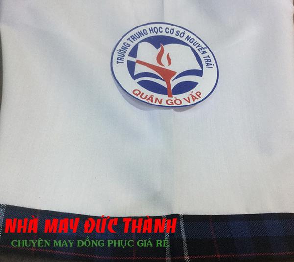 Logo Đồng phục học sinh nữ trường THCS Nguyễn Trãi quận Gò Vấp