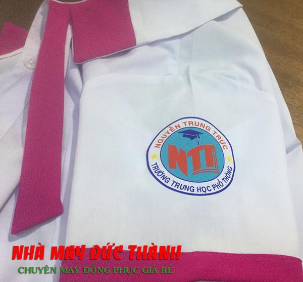 lOGO Bộ đồng phục học sinh nữ trường THPT Nguyễn Trung Trực Gò Vấp