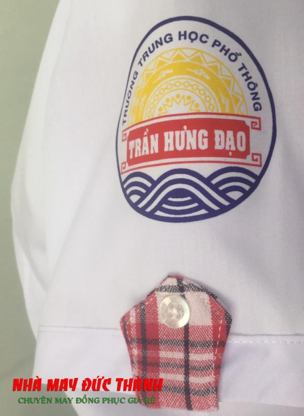 Phù hiệu Đồng phục học sinh nữ trường THPT Trần Hưng Đạo Gò Vấp