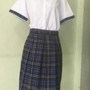 Đồng phục học sinh nữ trường THCS Nguyễn Trãi quận Gò Vấp