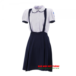 Đồng phục học sinh nữ trường tiểu học Võ Thị Sáu Gò Vấp