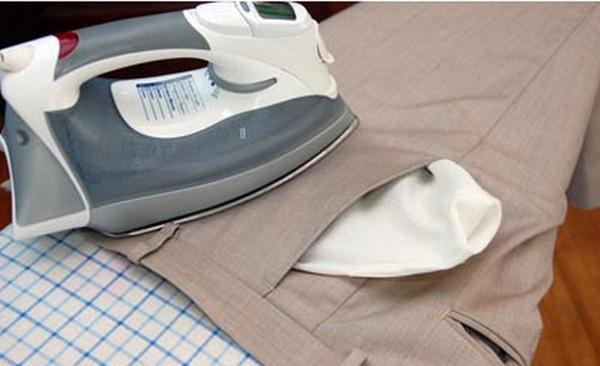 Cách ủi quần áo ở nhiệt độ nào phù hợp nhất: Cách ủi Quần tây