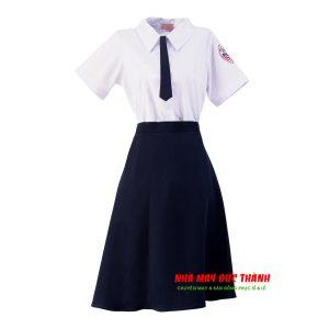 Bộ đồng phục nữ trường THPT Phú Nhuận TP.HCM