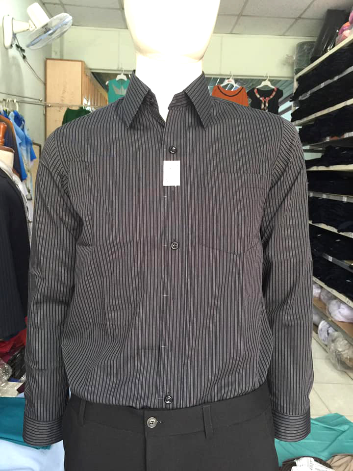 Mâu áo sơ mi nam của Đồng phục Đức Thành, Shop áo sơ mi nam giá rẻ TPHCM - Địa chỉ may áo sơ mi nam đẹp ở TPHCM
