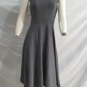 Đầm suông chấm bi đẹp cao cấp VĐ10 tự thiết kế