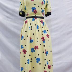Mẫu Váy suông hoa đẹp VĐ012 thiết Đức Thành