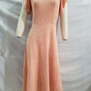 Mẫu Váy đầm trung niên cao cấp sang trọng VĐ06 - Được thiết kế và may bởi Đức Thàn