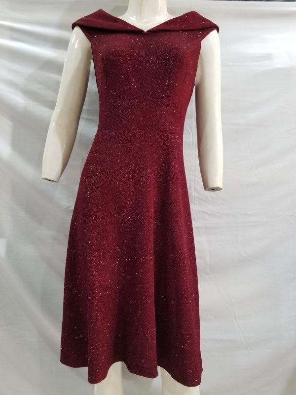 Mẫu váy đầm cổ chữ V (VĐ08)